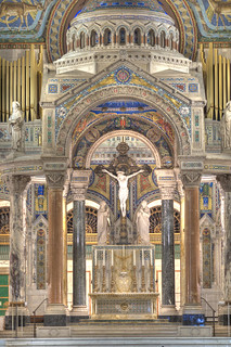 Altar of the Saint Louis Basilica