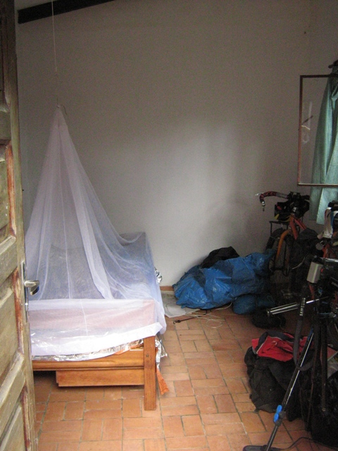 Mosquito nets come in handy when you enter the Amazon. Really darn handy.