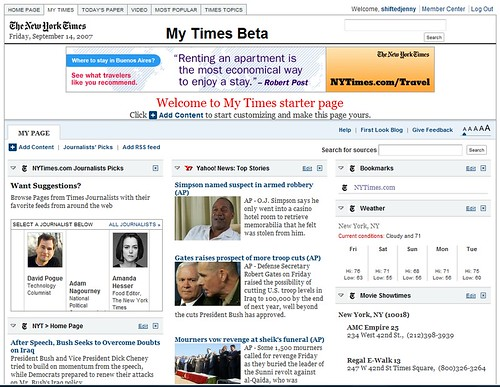 New York Times goes aggregator