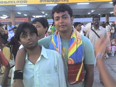 me with vibash at kanyakumari (abhijeetrockscusat) Tags: banda hai ye bindass