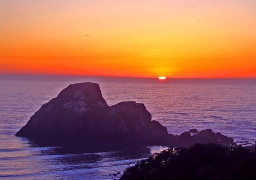 Sunset at Camel Rock.9.26.07