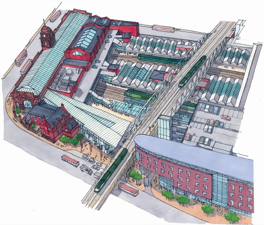Nottingham full summary of projects skyscrapercity malvernweather Choice Image