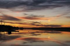 Sunset over Manitou Lake