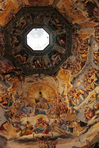 painting inside the dome