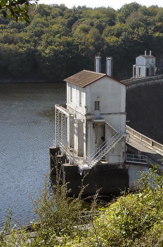 Le barrage d'Eguzon