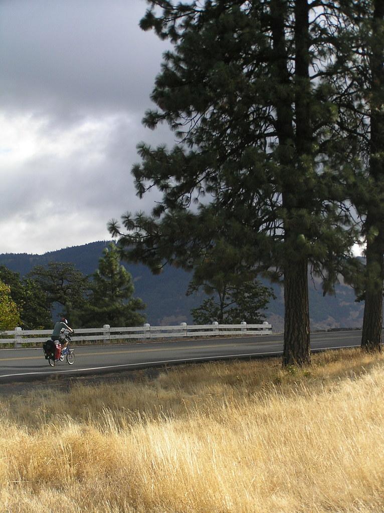 Over 500 miles bike ride to Idaho. Sept - Oct 2007