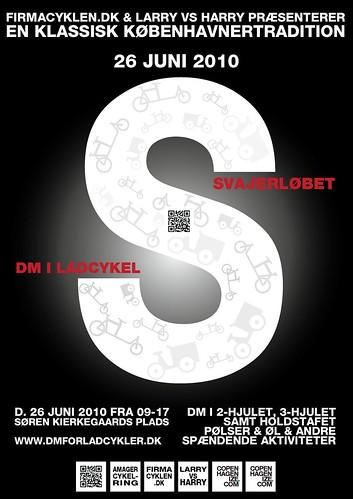 Svajerløb / DM for Ladcykler Poster Prototype 03