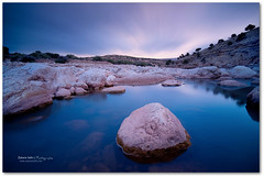 Good Times Gone (Zakaria Salhi) Tags: africa travel sky lake landscape lost amazing nikon long sigma bleu morocco filter maroc nd 1020 d300 expuser zakariasalhiafrique