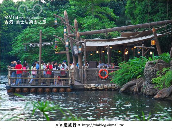 【香港自由行】跟著via玩香港(1)~爆走香港迪士尼樂園43