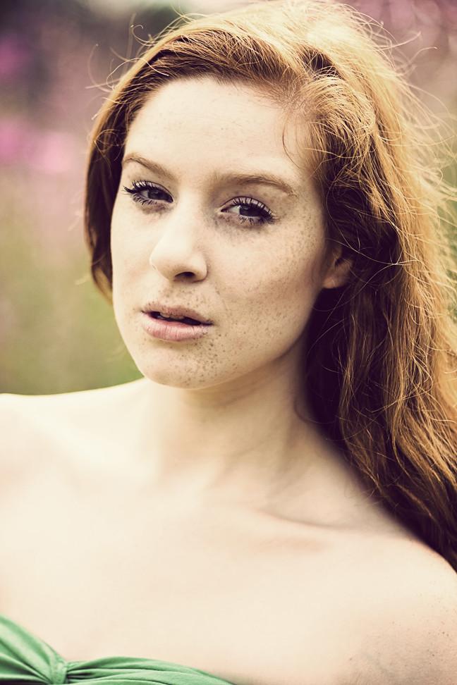 Ginger Model Hampstead Heath
