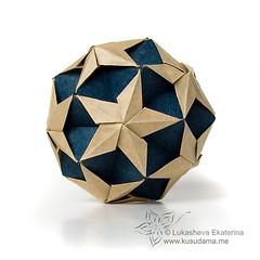 Iso-sonobe var ? (_Ekaterina) Tags: origami modularorigami kusudama unitorigami lukasheva ekaterinalukasheva