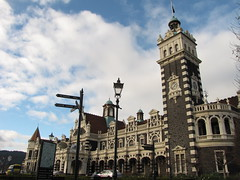 Dunedin Railway Station (blue polaris) Tags: city newzealand landscape scenery southisland otago dunedin