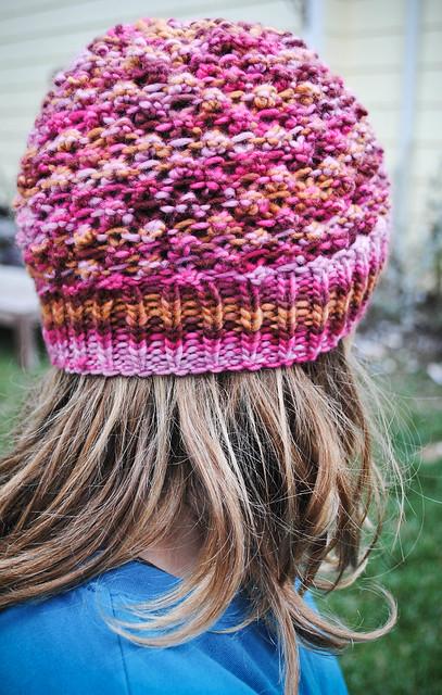 november :: handspun, handknit = hands warm, heads warm.