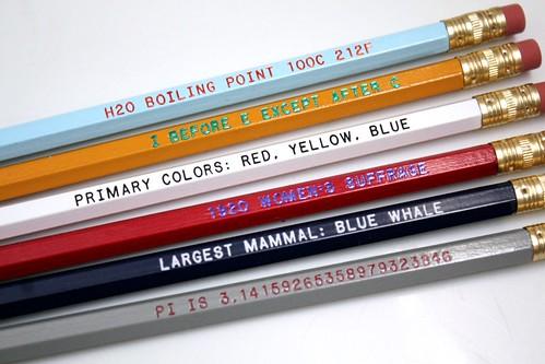 <3 My New Pencils!