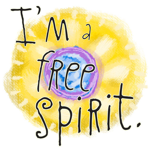 I'm a free spirit badge