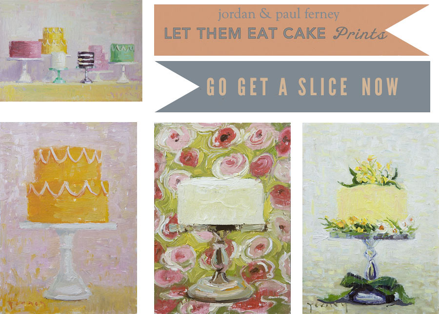 let them eat cake prints