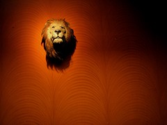 TheDen (Midhun Manmadhan) Tags: red wall king power den lion jungle