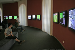 documenta 12 | Harun Farocki / Deep Play | 2007 - Finale FIFA World Cup 2006 France Italy on 12 screens | Fridericianum ground floor