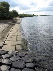 Veerse Meer (lake), formerly Veerse Gat (sea-arm) (doc(q)man) Tags: lake water netherlands landscape zeeland docman dike basalt veere walcheren