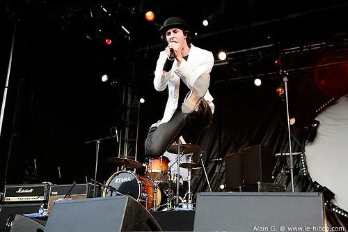 Maximo Park @ Le Rock Dans Tous Ses Etats 2007