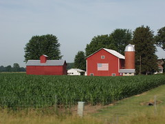 Indiana (On_The_Bandwagon) Tags: barn indiana redbarn inpatriotism