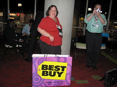 Jen Wagner a Best Buy at NECC 2007!