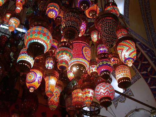 Fedett Bazár - lámpa bolt