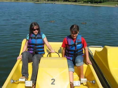 Twin lakes Paddleboats