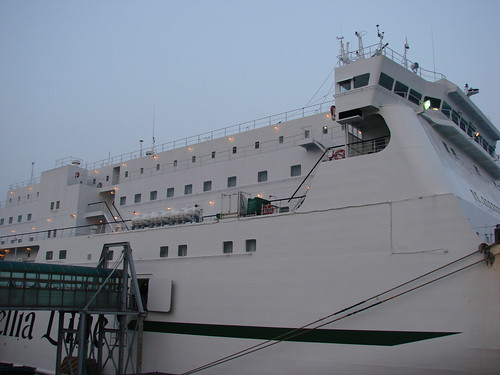 Our ferry, the New Camellia
