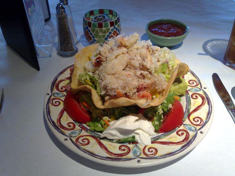 Crab Tostada
