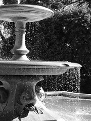 Fountain in Sunlight by veronica_geminder