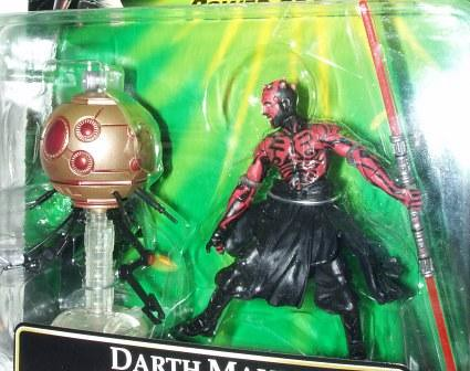 POTF Darth Maul & Sith Attack Droid b
