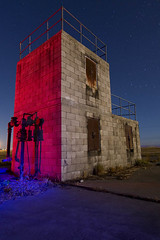 FireFireFire (TakenPictures) Tags: california longexposure nightphotography castle abandoned canon military central fullmoon trespassing afb air canon30d force castle tokinaaf1224mmf4 takenpictures tokinaatx124afprodx mikehows