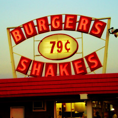 burgers 79¢ shakes