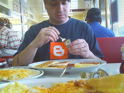 Brian at Brint's Diner