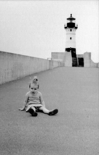 elissa at duluth lighthouse