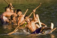 Rafting-Sangklaburi (kinginexile) Tags: life water kids children thailand asia rafting 2007 itsongmirrorssoutheastasia