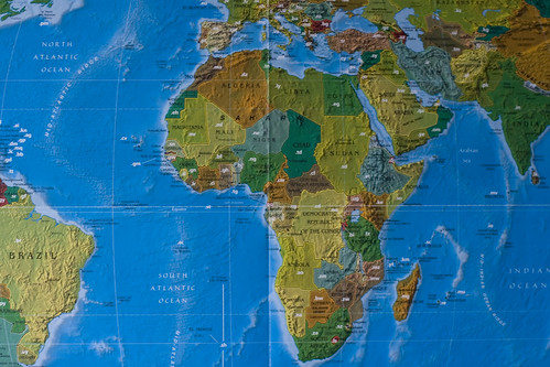 Topleveldomain-Weltkarte