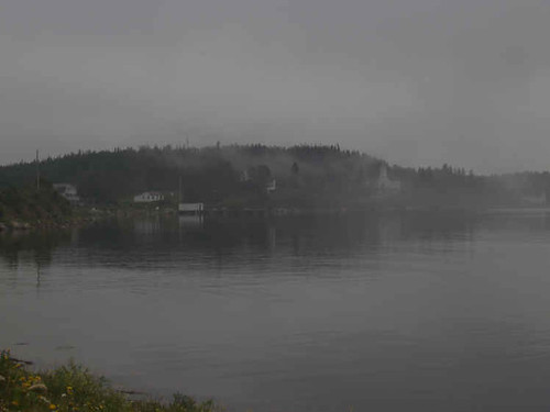 Blandford in Fog