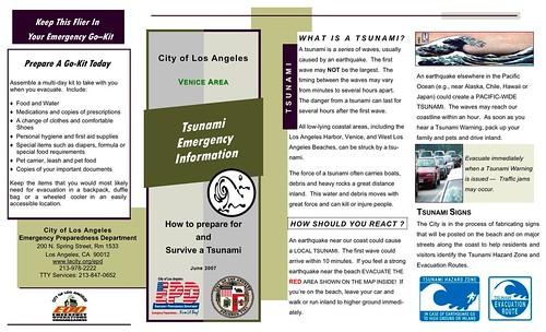 Tsunami Brochure - (RED Santa Monica - Venice)