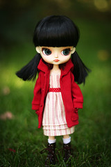 Darby takes a walk. (Emily Szettella) Tags: outside doll handmade dal darby sooni ixtee