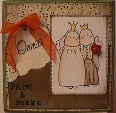 A wedding card 1