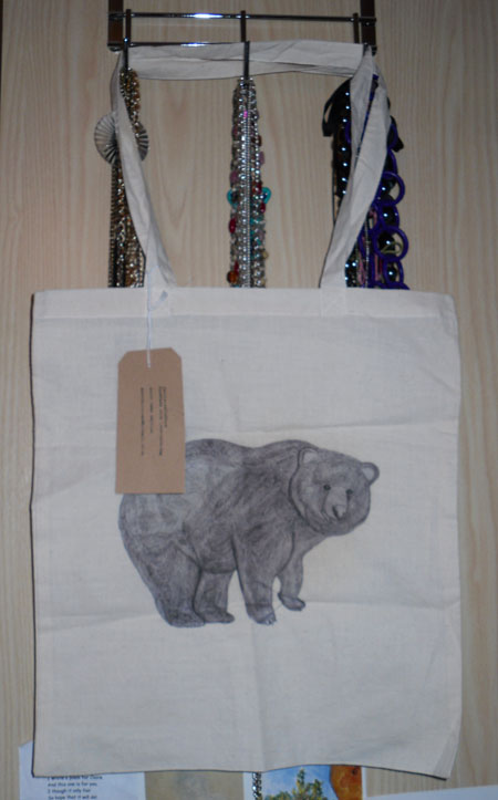Printed Canvas tote