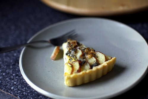 potato tart slice