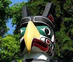 Kwakiutl Totem Pole