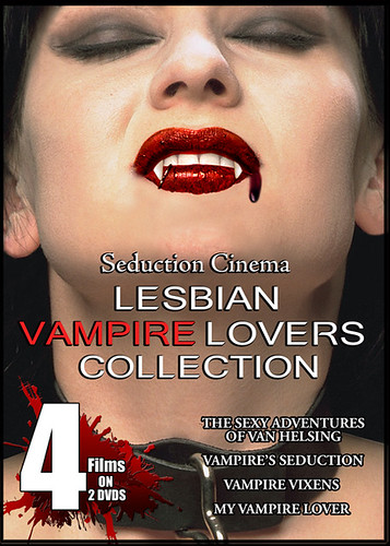 Seduction Cinema's Lesbian Vampire Lovers Collection