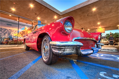 1957 b ford thunderbird