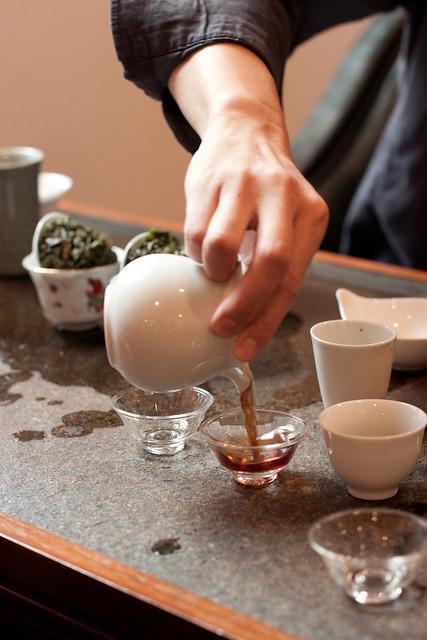 Pouring 3 Stamp Shui Xian