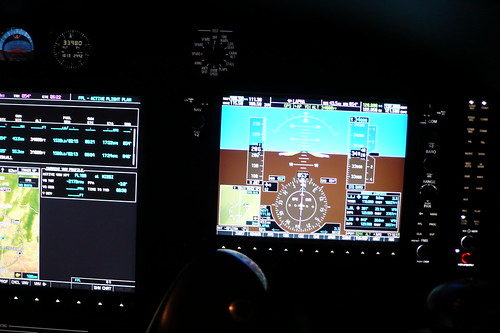 Cockpit Citation Mustang