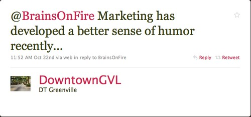 downtowngvl: What's right with marketing?